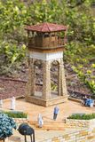 Museum of miniature architectural landmarks of Israel in the open air. LATRUN, ISRAEL - 23 NOVEMBER 2017: Museum of miniature architectural landmarks of Israel Stock Photography