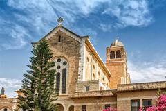 Latrun kloster Royaltyfria Foton