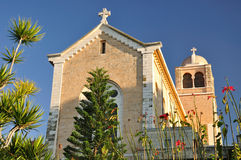 Latrun monastery. Stock Photos