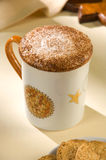 latt που καρυκεύεται αφρός Στοκ φωτογραφία με δικαίωμα ελεύθερης χρήσης