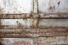 Latta chiazzata pittura di colore Fotografia Stock