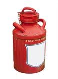Latta del gas, isolata Immagini Stock