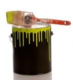Latta della vernice Immagine Stock Libera da Diritti