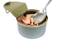 Latta di alimento 6 Immagini Stock