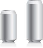 Latta di alluminio Immagine Stock Libera da Diritti