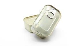 Latta di alluminio dello stagno Fotografia Stock Libera da Diritti