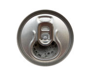 Latta di birra fotografia stock