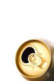 Latta di birra Fotografie Stock Libere da Diritti