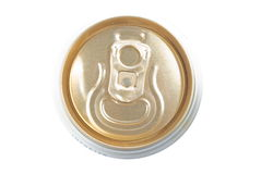 Latta di birra Immagine Stock Libera da Diritti