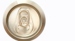 Latta di birra Fotografia Stock Libera da Diritti