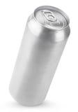 latta di birra di alluminio da 500 ml Fotografia Stock Libera da Diritti