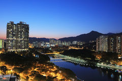Latta di Sha, Hong Kong Fotografie Stock Libere da Diritti