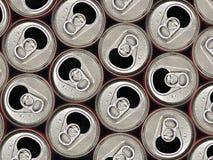 Latta di soda Immagine Stock Libera da Diritti