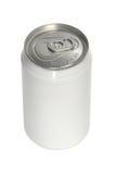 Latta di soda di alluminio immagine stock