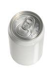 Latta di soda di alluminio Fotografie Stock Libere da Diritti
