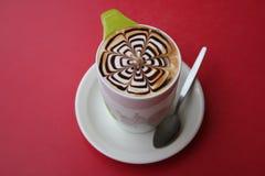 latte上等咖啡 库存照片