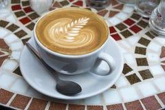 Latte咖啡 库存图片