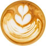 Latte艺术 图库摄影