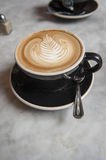 Latte το πρωί στοκ εικόνες με δικαίωμα ελεύθερης χρήσης