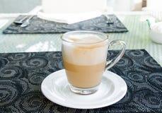 latte φλυτζάνι καφέ Στοκ εικόνα με δικαίωμα ελεύθερης χρήσης