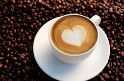 latte искусства Стоковые Фотографии RF
