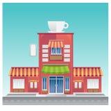 Latte капучино чашки питья эспрессо кофейни горячий Стоковые Фотографии RF