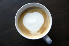 latte кафа искусства Стоковые Изображения