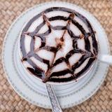 latte кофейной чашки искусства горячее Стоковая Фотография
