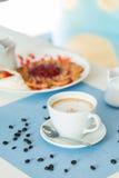 latte кофейной чашки Стоковые Фото