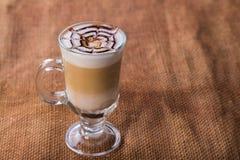 latte кофейной чашки Стоковое фото RF