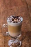 latte кофейной чашки Стоковая Фотография RF