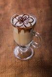 latte кофейной чашки Стоковые Изображения RF