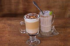 latte кофейной чашки Стоковое Фото