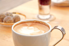latte кофе Стоковые Изображения