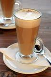 Latte кофе Стоковое Изображение