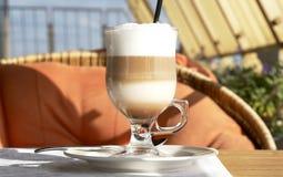 latte кофе Стоковая Фотография