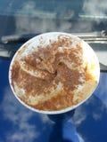 Latte специи тыквы Стоковая Фотография