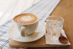 Latte чашки кофе Стоковое Изображение RF