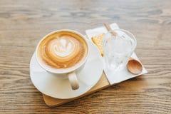 Latte чашки кофе Стоковые Изображения RF