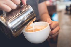 latte image libre de droits