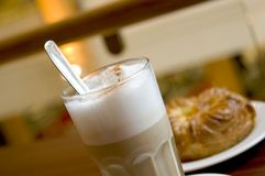 latte 2 каф Стоковое Фото