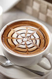 Latte image stock
