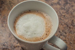 Latte Στοκ εικόνα με δικαίωμα ελεύθερης χρήσης