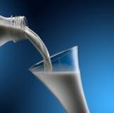 latte Fotografia Stock