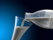 latte Fotografie Stock Libere da Diritti