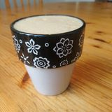 Latte Obraz Royalty Free