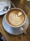 latte Fotografía de archivo libre de regalías