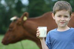 Latte alimentare Immagini Stock
