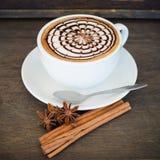 Latte Art Coffee photographie stock libre de droits