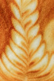 Latte Art Coffee Stockbild